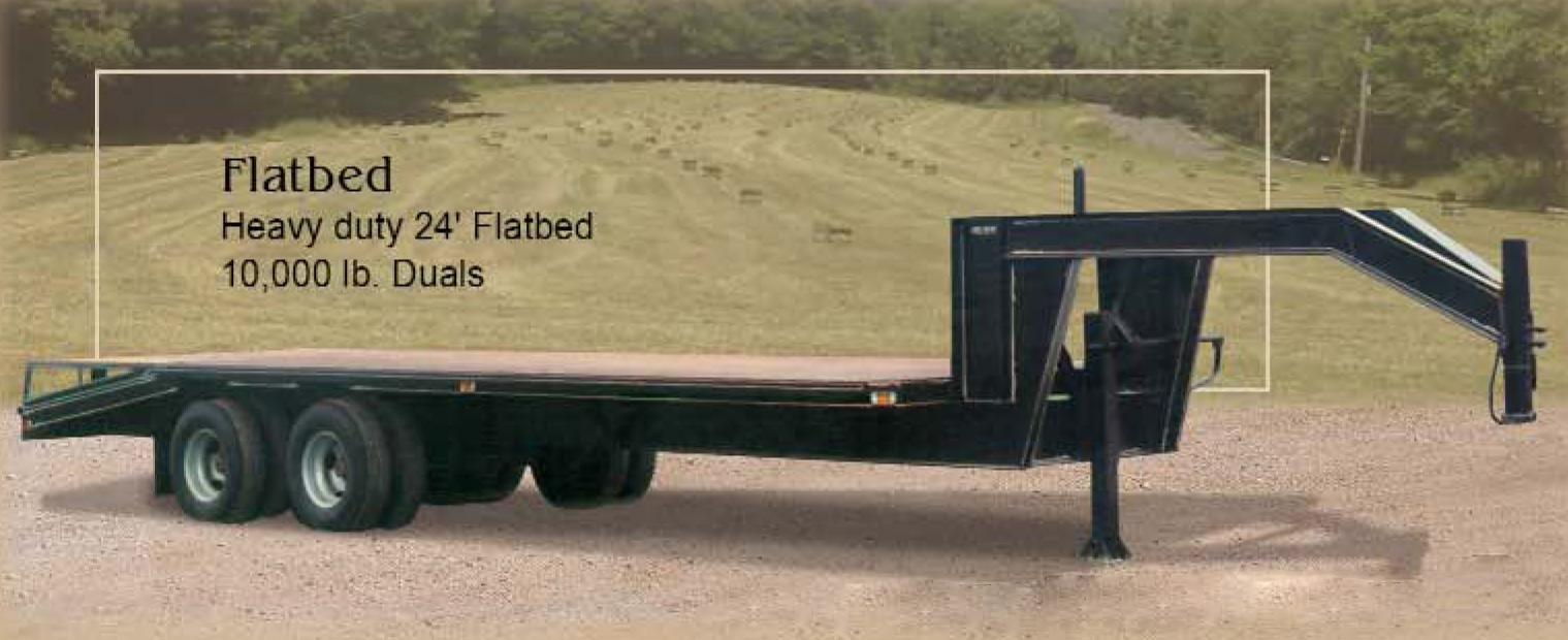 Gooseneck flatbed trailers www galleryhip com the hippest pics