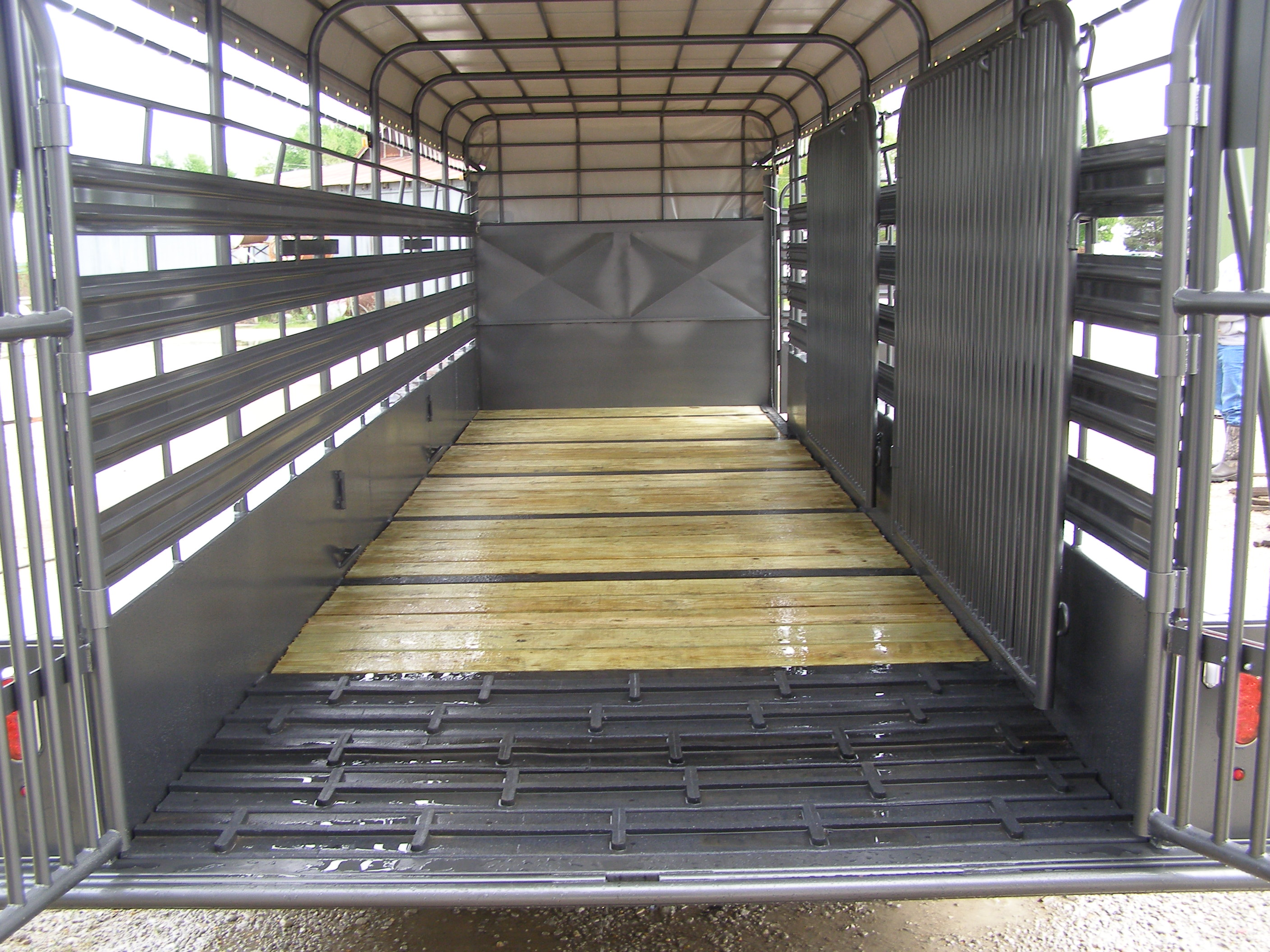 Horse Trailer Flooring : Coose trailers new ranch hand livestock